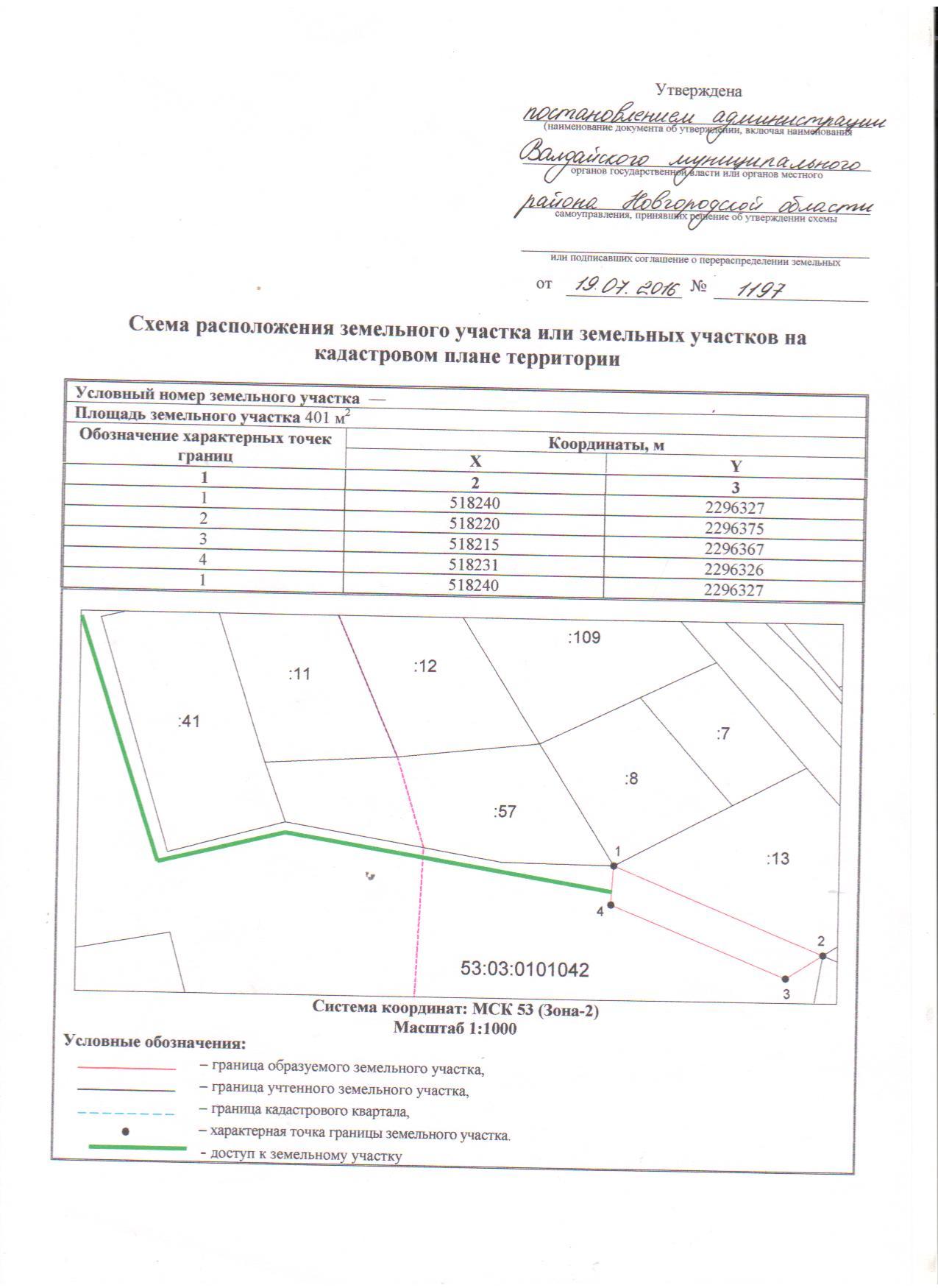 Основания отказа в утверждении схемы расположения земельного участка
